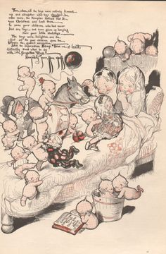 """Good Housekeeping """"The Kewpies and the Forgotten Toys"""""""