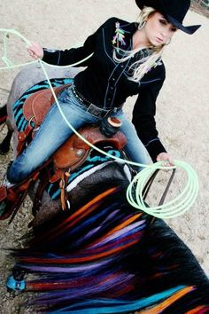 I want to do this to my horse's mane!