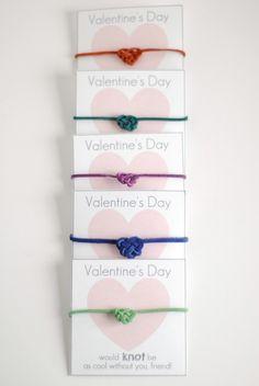 hart + sew | Vintage Baby Clothing: heart knot friendship bracelet valentines