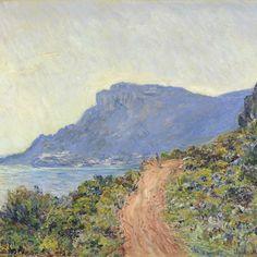 La Corniche near Monaco, Claude Monet, 1884 - Rijksmuseum