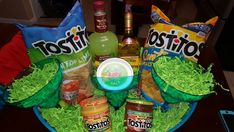 Margarita themed Gift Basket