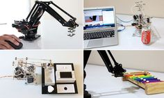 £168 robotic arm pours drinks, fetches stationery and even play music