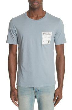 MM6 MAISON MARGIELA STEREOTYPE POCKET T-SHIRT. #mm6maisonmargiela #cloth #
