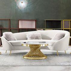 Modern Furniture Stores, Home Decor Furniture, Sofa Furniture, Living Room Furniture, Living Room Decor, Furniture Design, Cream Furniture, Furniture Ideas, Living Room Sofa Design