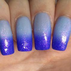 Image of Purity (thermal) Fun Nails, Nice Nails, Nail Designs, Nail Polish, Nail Art, Fancy, Beauty, Summer, Image
