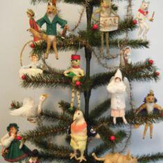 Antique cotton ornaments