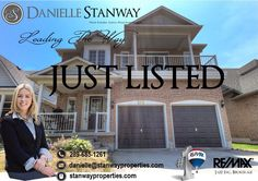 * JUST LISTED * 242 Sprucewood Cres., Bowmanville Asking Price $514,900 #bowmanville #clarington #durhamregion #realestate #realtor #stanwayproperties #leadingtheway #remax