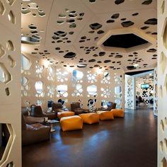 Interesting walls at Meltino Bar & Lounge in Braga, Portugal by ...