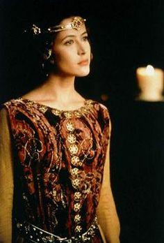 Costume cinéma - Isabelle de France - Braveheart