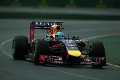 Sebastian Vettel Sebastian Vettel of Germany and Infiniti Red Bull Racing drives during qualifying for the Australian Formula One Grand Prix...