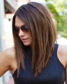 Orta Boylu Saç Modeli