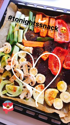 Tonight's light snack : grilled veggies