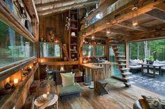 室內設計師Scott Newkirk的無電慢活小木屋 | 大人物
