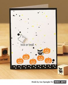 Papercrafting Halloween Inspiration: Card from Hero Arts - See more at: http://papercrafterscorner.com/blog/papercrafting-halloween-25-card-ideas/