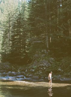 Swimming in Wild Waters
