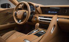 Lexus LC Cockpit
