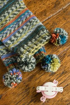 Longstocking Muffler Project - Regia Design Line Version with self-patterning yarn