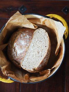 Chleb na zakwasie Rodolpha Coustona. Marcowa Piekarnia – Kuchennymi drzwiami Bread, Food, Brot, Essen, Baking, Meals, Breads, Buns, Yemek