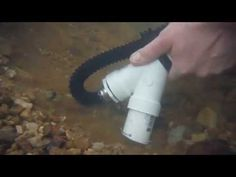"▶ Gold Prospecting w/ DIY Backpack Mini Dredge - 1.5"" pvc nozzle, 1000 GPH Bilge Pump - BEDROCK SNIPER - YouTube"