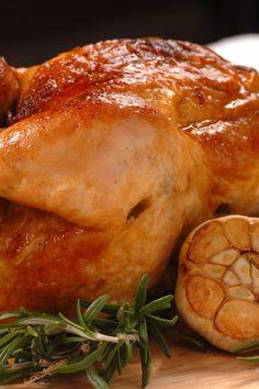 Cornish Game Hens with Garlic and Rosemary #Recipe