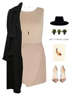 """// m i n i m a l i s t //"" by theonlynewgirl ❤ liked on Polyvore featuring Alice + Olivia, Carven, Gianvito Rossi, Zimmermann, A.L.C., Natalie B, minimal, minimalism, Minimaliststyle and polyvorecontest"
