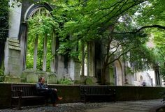 10 Ruined Buildings Transformed into Powerful Memorials of War St Dunstan's in the East, London