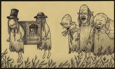 POST IT MONSTRE  John Kenn Mortensen