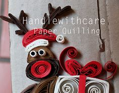 """Check out new work on my @Behance portfolio: """"My quilling Christmas"""" http://on.be.net/1Hl6imx"""