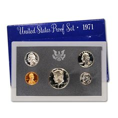 Coin Set: 1971 S Us Proof Set Original Government Packaging