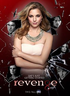 Revenge...Awesome show. Almost caught up on Netflix and ready for season 3! How was I not watching this show?! #revenge #abc