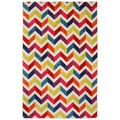 Off-set Chevron Multi Rug (5' x 8')