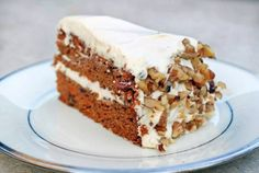 Grain-free Carrot Cake w Cream Cheese Frosting
