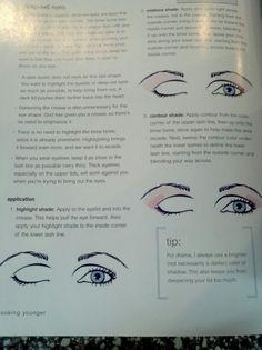 Eye shadow for deep set eyes