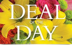 Deal of the Day Bouquet Flowers, Deal of the Day Flower Bouquet - Teleflora.com - always get the most for your dollar.