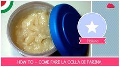 Tutorial Come fare Colla di Farina (ideale per cartapesta) - Ricetta ECO...