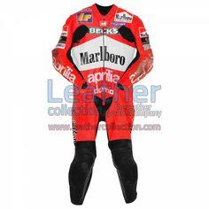 Ralf Waldmann Aprilia GP 1999 Leathers for $629.30 - https://www.leathercollection.com/en-we/ralf-waldmann-aprilia-leathers.html