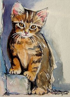 cats in art by christy de koning