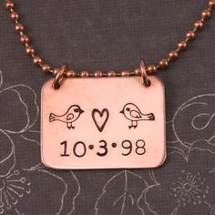 Cute design using our new Love Birds stamp set.