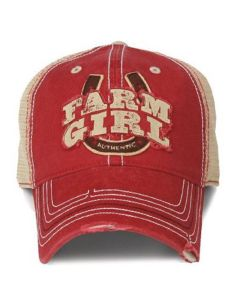 Farm Girl Cap-love it! Find this Pin and more ... db6f33278dfd