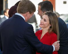 Queen Letizia of Spain Photos: King Felipe Visits the Netherlands