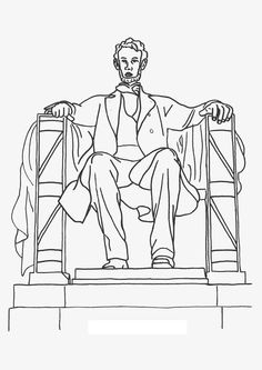 lincoln memorial worksheet lincoln memorial coloring page