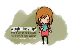 Great weight loss tips I found on tumblr.