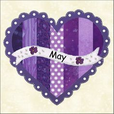 Bloque de mayo: Free Patterns