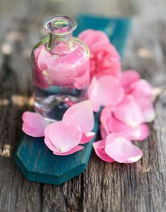 DIY Beauty: Rosewater Toner—gentle and not as drying as alcohol-based toners and astringents