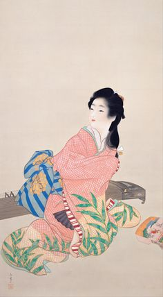 上村松園 - GATAG|フリー絵画・版画素材集