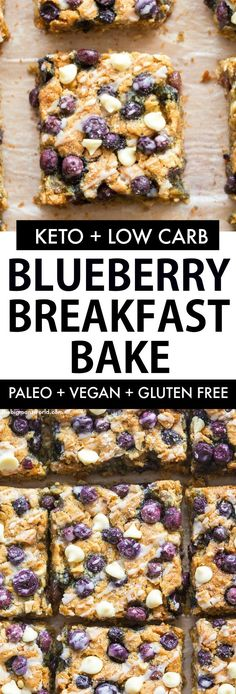 Healthy Blueberrry Breakfast Bake recipe PACKED with wholesome ingredients and j. - Healthy Blueberrry Breakfast Bake recipe PACKED with wholesome ingredients and just like a soft-bak - Baked Oatmeal Recipes, Baked Breakfast Recipes, Breakfast Desayunos, Breakfast Healthy, Eating Healthy, Breakfast Ideas, Blueberry Breakfast Bake Recipe, Blueberry Oatmeal Bars, Healthy Blueberry Recipes