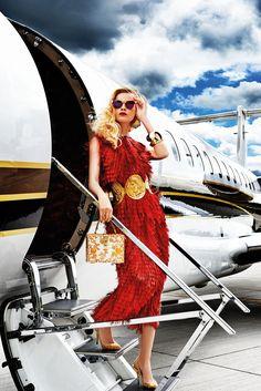 Luxure Magazine - The Culture of Luxury - Traffic. Dolce & Gabbana, Christian Dior, Roberto Cavalli, Fendi