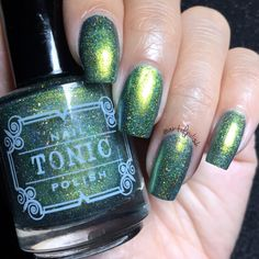 Tonic Polish - Slitherin' (Fall/Halloween 2016 Collection)