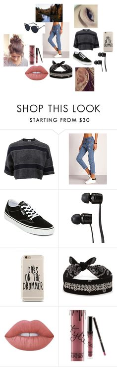 """""""Tu"""" by esteffa on Polyvore featuring Brunello Cucinelli, Vans, Fallon, Lime Crime y Kylie Cosmetics"""