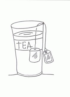 ice tea color page drink coloring pages color plate